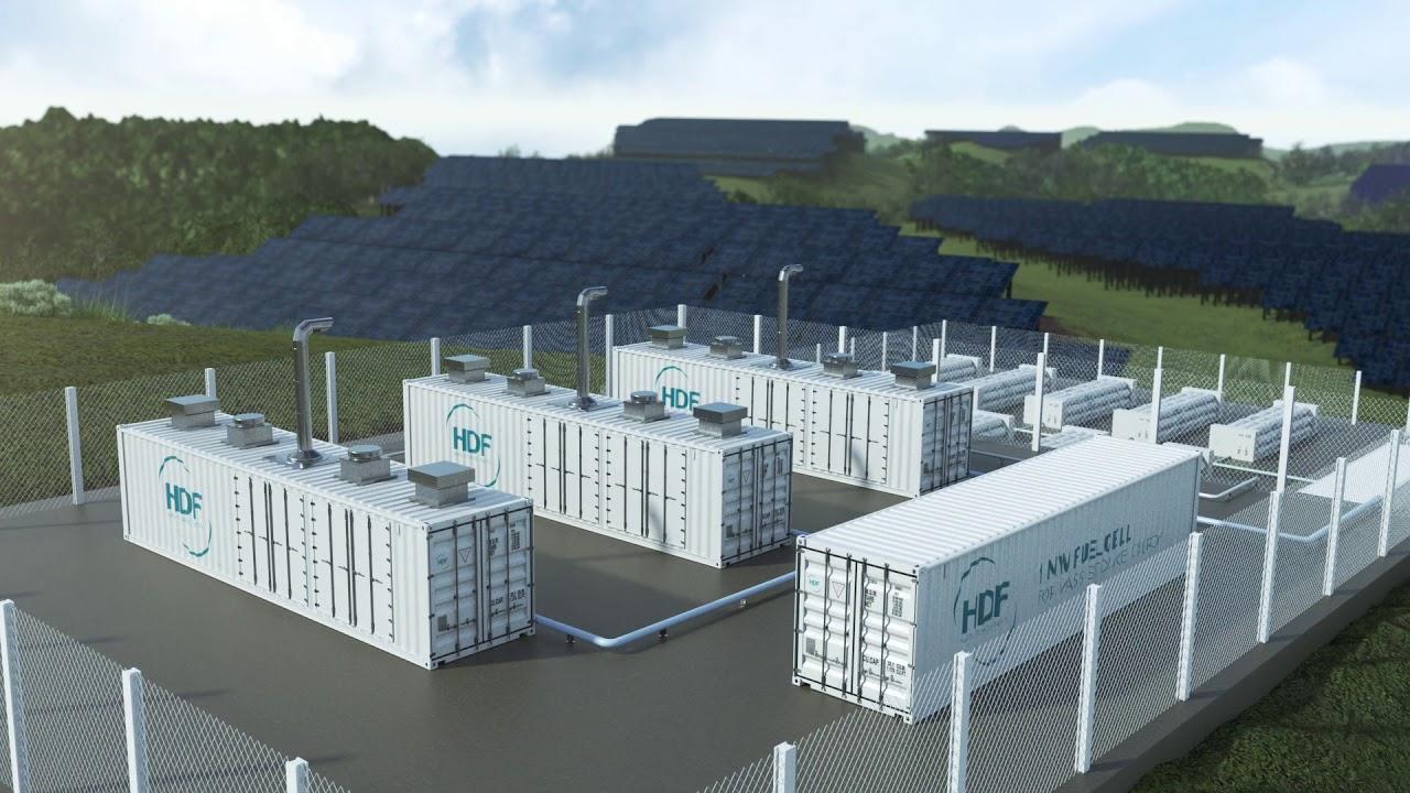 L'unité de stockage d'énergie par hydrogène dans la région de Saint-Laurent du Maroni